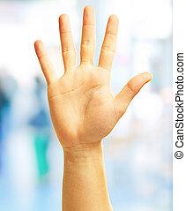 Human Hand, Outdoor