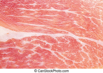 Fresh meat texture