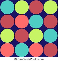 Large Polka Dots Background
