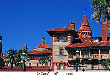 Beautiful Flagler College located in historic St Augustine...