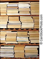 Libros, Estantes
