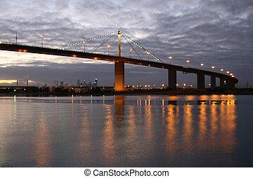 cidade, ponte