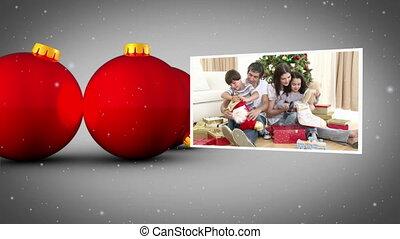 Christmas family animation