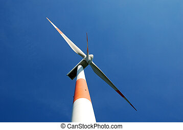 windturbine in the north of Belgium