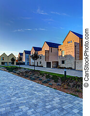 Eco Homes - Sustainable housing on Portland in Dorset...