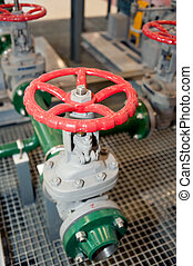 Industrial equipment valves