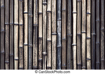 Bamboo background - Background with bamboo in brown and...