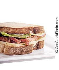 Gluten Free Sandwhich - Gluten free sandwich with home-made...
