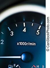 rpm meter dashboard - rpm meter