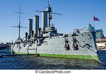 The symbol of the communist uprising in Russia - the Cruiser...