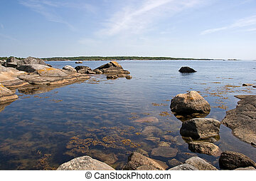 Archipelago - A typical scene of a swedish summerday in the...
