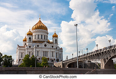 Cathedral of Christ the Savior. Moscow, Russia