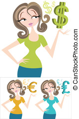 Money Woman - Entrepreneur,businesswoman,blogger,or just a...