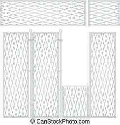 High sectional fence