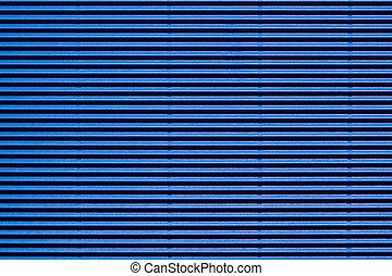 blue corrugated cardboard - texture of blue corrugated...