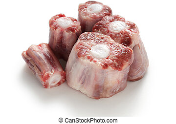 raw oxtail - oxtail soup ingredients