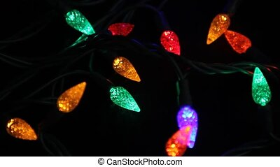 Christmas lights - Multi coloured Christmas lights