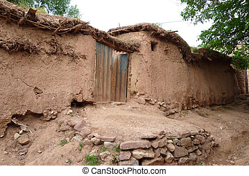 Clay Hovel, Hissar Mountains, Uzbekistan, Central Asia