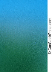 Abstract glass background texture with blue and green...