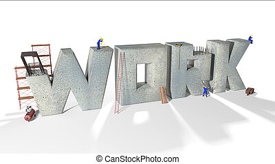 Working People - Written work built by various workers and...