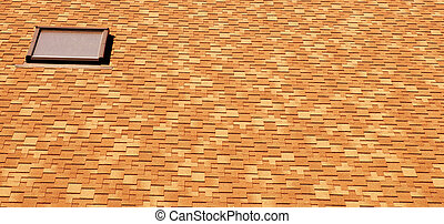 tile roof with window
