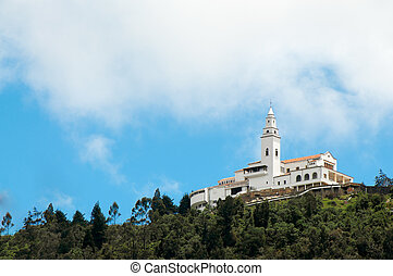 Monserrate Church - Monserrate church high in the Andes...