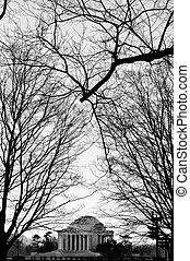 Thomas Jefferson Memorial - The Thomas Jefferson Memorial,...