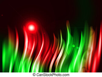 Colorful aura light abstract background