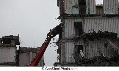 demolition machine