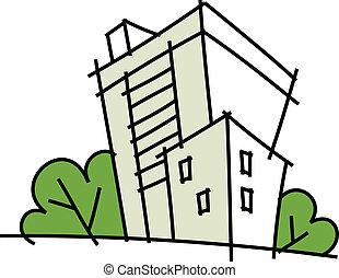 icon Building  - icon Building