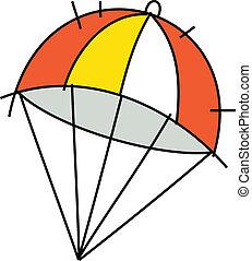 icône, Parachute