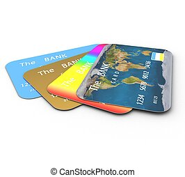 3d Credit cards