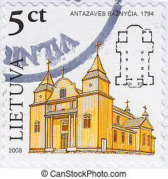 LITHUANIA - CIRCA 2008 : stamp printed in Lithuania shows...
