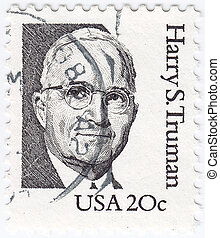 USA - circa 1984 : stamp printed in USA shows image of...