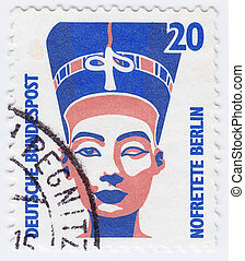 GERMANY - CIRCA 1970 : stamp printed in Germany shows bust...