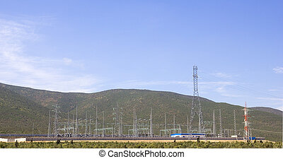 Central electric, Chile - Power station in the Atacama...