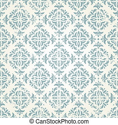 Seamless vintage wallpaper - Vintage seamless wallpaper EPS...