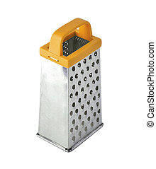 Single grater for food isolated