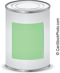 paint color tin can