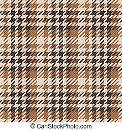 Seamless texture of brown wool fabric comprised by threads -...