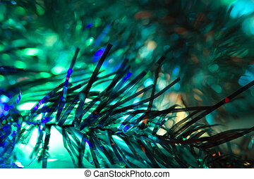 Abstraction blue Christmas background