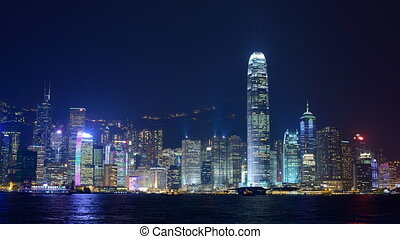 Hong Kong Laser Show - Hong Kong Laser Light Show in Hong...