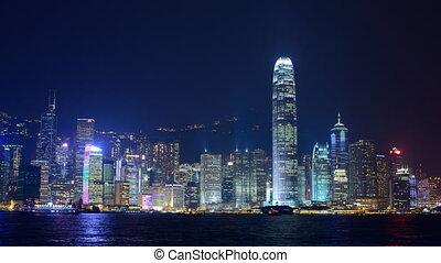 Hong Kong Laser Show - Hong Kong Laser Light Show in Hong...