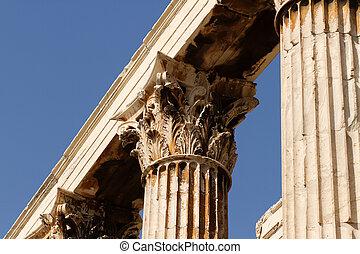 olympian,  zeus, Atenas, Templo