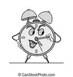 Time does not stop. even if you clo - alarm clock is worth....