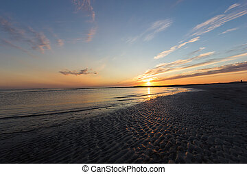 Sunset at Baleshare - A beautiful sunset at Baleshare (Outer...