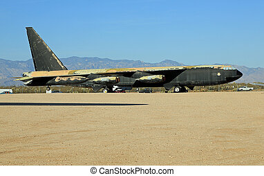 Historic B-52 Bomber - Historic B-52 Stratofortress bomber...