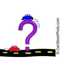 Alphabet Highway Question - Question mark, in the alphabet...