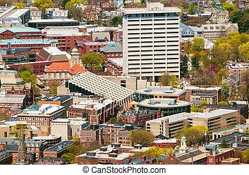 Harvard Campus Aerial