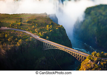 Bridge over Victoria Falls